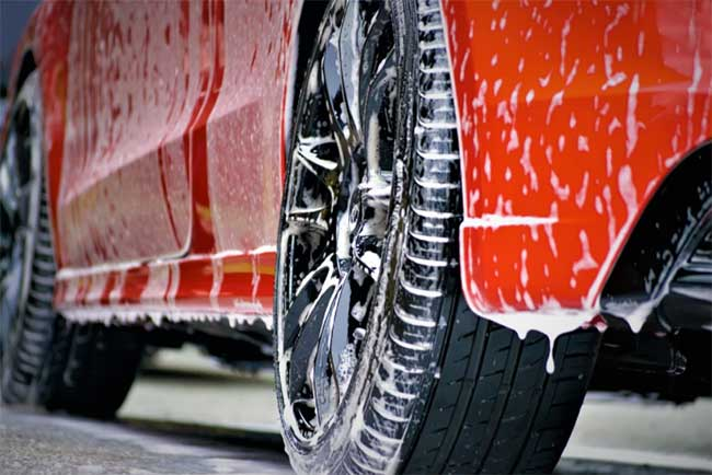 Professional body work cleaning and detailing products